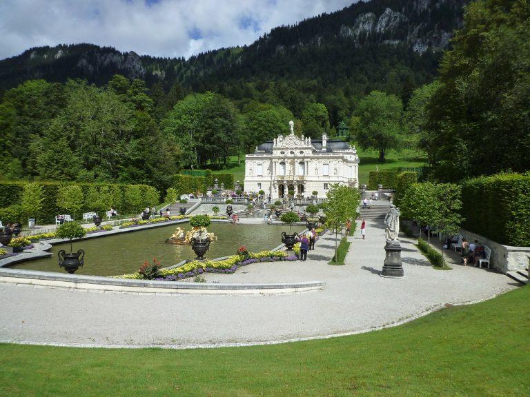 Bayern Schloss Linderhof