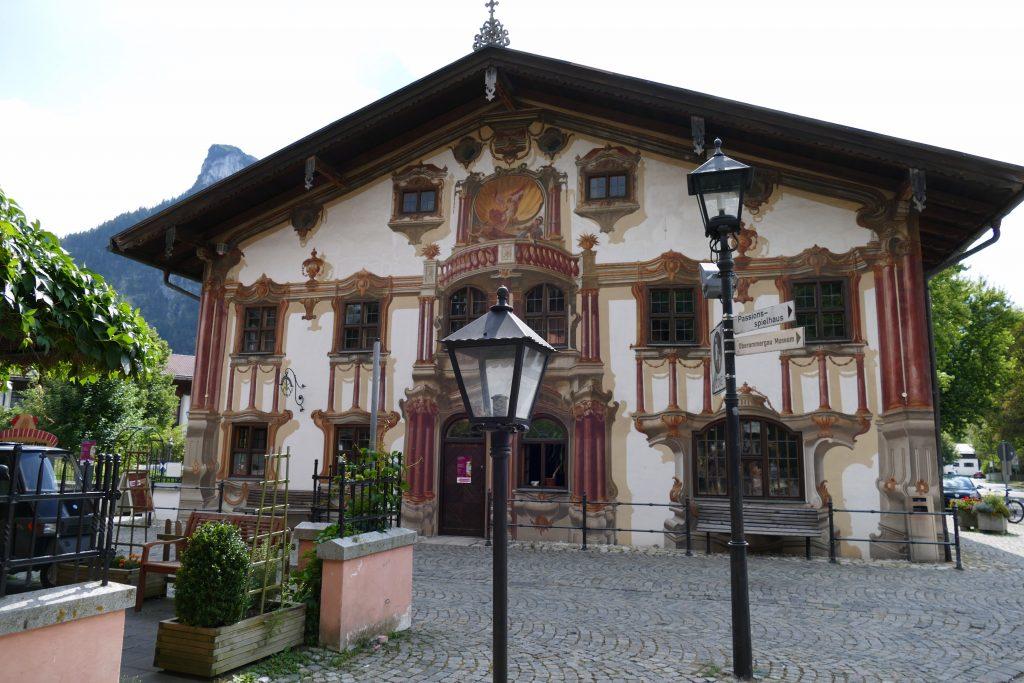 Pilatushaus Oberammergau Bayern Deutschland