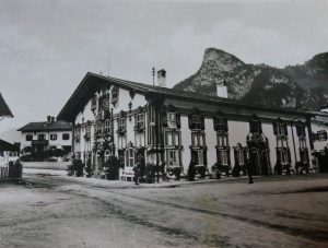 Pilatushaus Oberammergau Bayern Bavaria