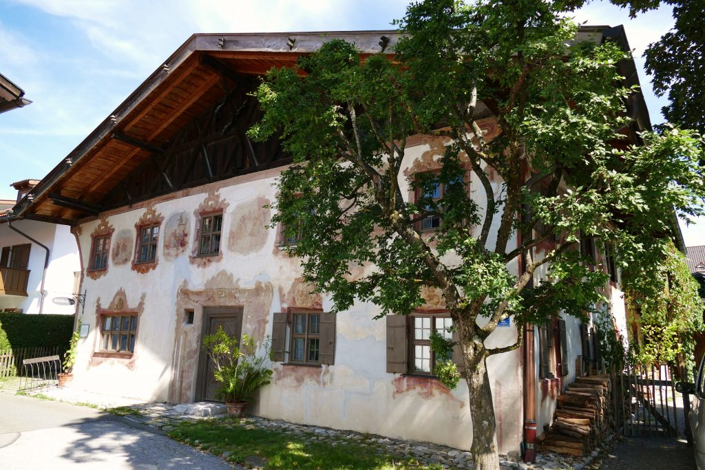 Judashaus Oberammergau Bayern Geschicte