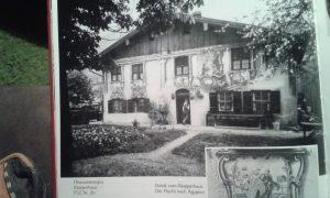 Klepper Haus Oberammergau Bayern Geschichte
