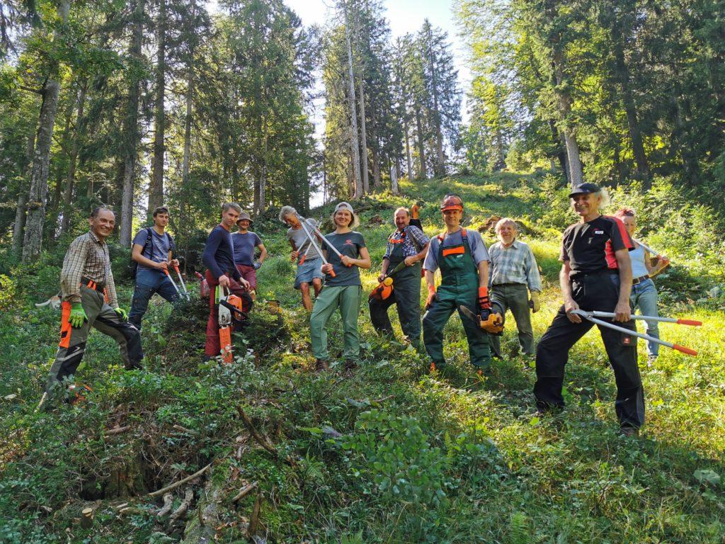 Bayern Naturpark Oberammergau Naturschutz Projekte